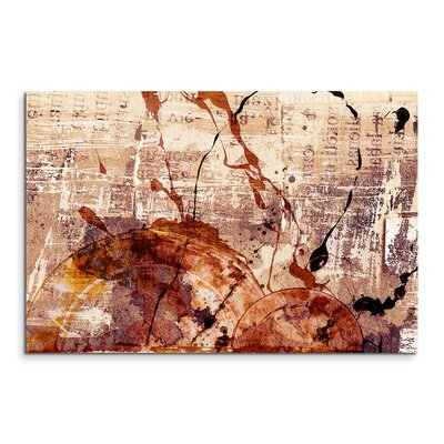 PaulSinusArt Enigma Abstrakt 530 Painting Print on Canvas
