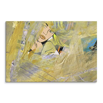 PaulSinusArt Enigma Abstrakt 537 Painting Print on Canvas
