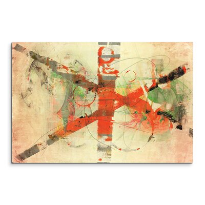 PaulSinusArt Enigma Abstrakt 770 Painting Print on Canvas