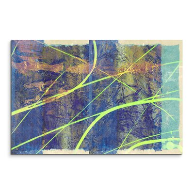 PaulSinusArt Enigma Abstrakt 957 Painting Print on Canvas