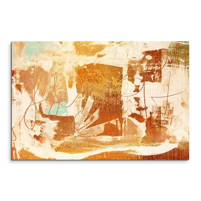 PaulSinusArt Enigma Abstrakt 964 Painting Print on Canvas