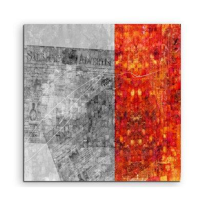 PaulSinusArt Enigma Abstrakt 686 Painting Print on Canvas