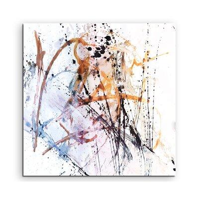 PaulSinusArt Enigma Abstrakt 687 Painting Print on Canvas