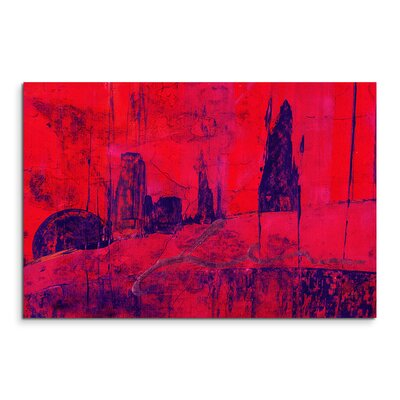 PaulSinusArt Enigma Abstrakt 973 Painting Print on Canvas