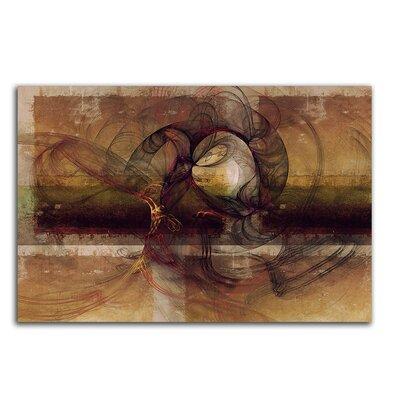 PaulSinusArt Enigma Abstrakt 186 Painting Print on Canvas