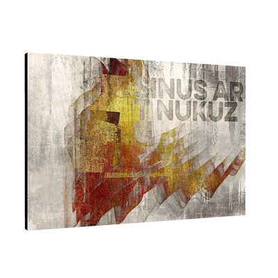 PaulSinusArt Enigma Abstrakt 362 Painting Print on Canvas