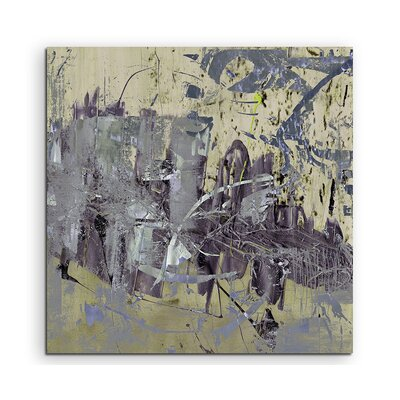 PaulSinusArt Enigma Abstrakt 869 Painting Print on Canvas