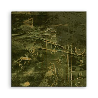 PaulSinusArt Enigma Abstrakt 870 Painting Print on Canvas