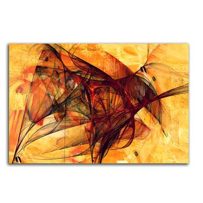 PaulSinusArt Enigma Abstrakt 368 Painting Print on Canvas