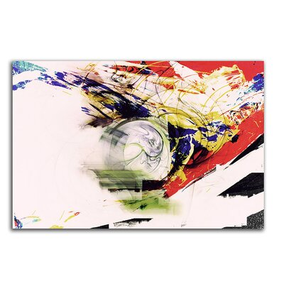 PaulSinusArt Enigma Abstrakt 370 Painting Print on Canvas