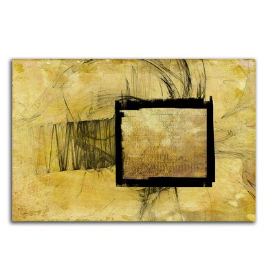 PaulSinusArt Enigma Abstrakt 373 Painting Print on Canvas