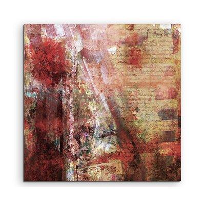PaulSinusArt Enigma Abstrakt 885 Painting Print on Canvas