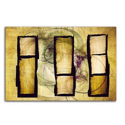 PaulSinusArt Enigma Abstrakt 382 Painting Print on Canvas