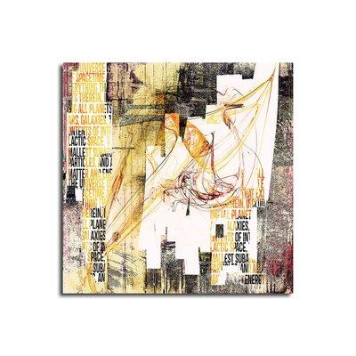PaulSinusArt Enigma Abstrakt 246 Painting Print on Canvas