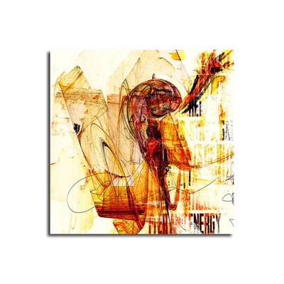 PaulSinusArt Enigma Abstrakt 247 Painting Print on Canvas