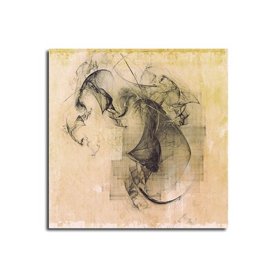 PaulSinusArt Enigma Abstrakt 375 Painting Print on Canvas