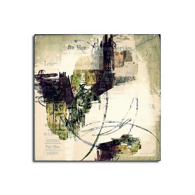 PaulSinusArt Enigma Abstrakt 395 Painting Print on Canvas
