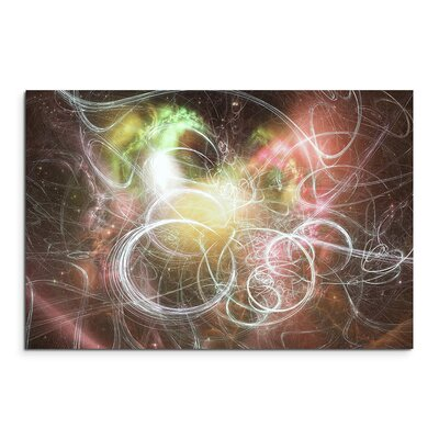PaulSinusArt Enigma Abstrakt 1067 Painting Print on Canvas