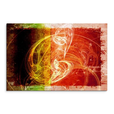 PaulSinusArt Enigma Abstrakt 1075 Painting Print on Canvas