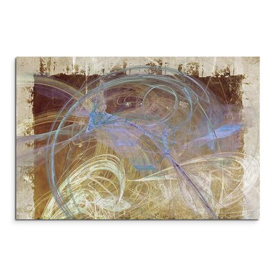 PaulSinusArt Enigma Abstrakt 1082 Painting Print on Canvas