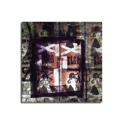 PaulSinusArt Enigma Abstrakt 446 Painting Print on Canvas