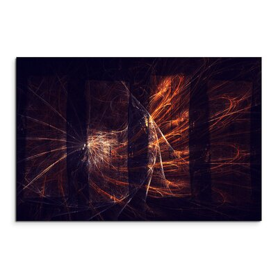 PaulSinusArt Enigma Abstrakt 1289 Painting Print on Canvas