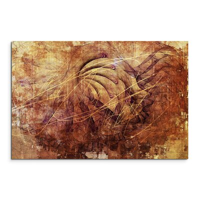 PaulSinusArt Enigma Abstrakt 1113 Painting Print on Canvas