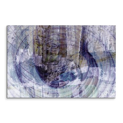 PaulSinusArt Enigma Abstrakt 1498 Painting Print on Canvas