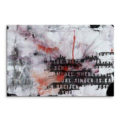 PaulSinusArt Enigma Abstrakt 742 Painting Print on Canvas