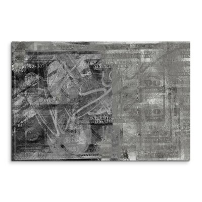 PaulSinusArt Enigma Abstrakt 503 Painting Print on Canvas