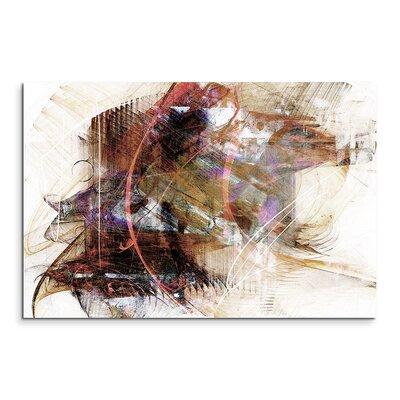 PaulSinusArt Enigma Abstrakt 749 Painting Print on Canvas