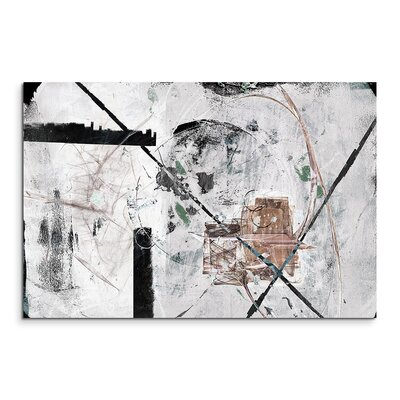 PaulSinusArt Enigma Abstrakt 750 Painting Print on Canvas