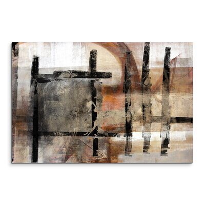 PaulSinusArt Enigma Abstrakt 751 Painting Print on Canvas
