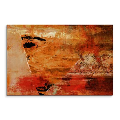 PaulSinusArt Enigma Abstrakt 758 Painting Print on Canvas