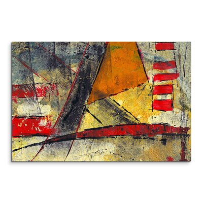 PaulSinusArt Enigma Abstrakt 933 Painting Print on Canvas