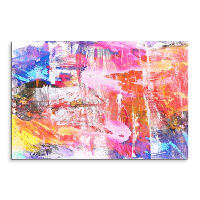 PaulSinusArt Enigma Abstrakt 935 Painting Print on Canvas