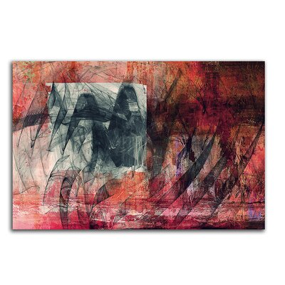PaulSinusArt Enigma Abstrakt 099 Painting Print on Canvas