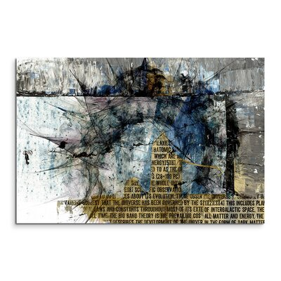 PaulSinusArt Enigma Abstrakt 1439 Painting Print on Canvas