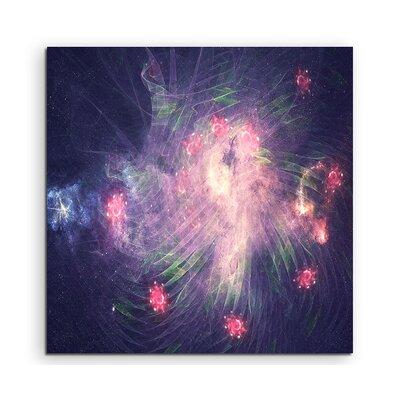 PaulSinusArt Enigma Abstrakt 1018 Painting Print on Canvas