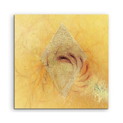 PaulSinusArt Enigma Abstrakt 1019 Painting Print on Canvas