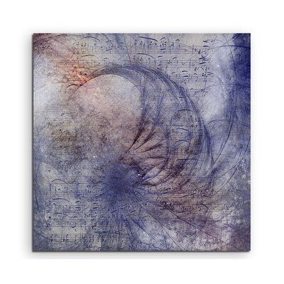 PaulSinusArt Enigma Abstrakt 1027 Painting Print on Canvas