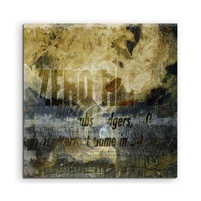 PaulSinusArt Enigma Abstrakt 1031 Painting Print on Canvas