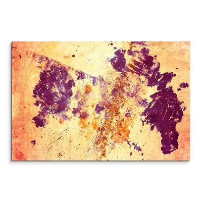 PaulSinusArt Enigma Abstrakt 645 Painting Print on Canvas