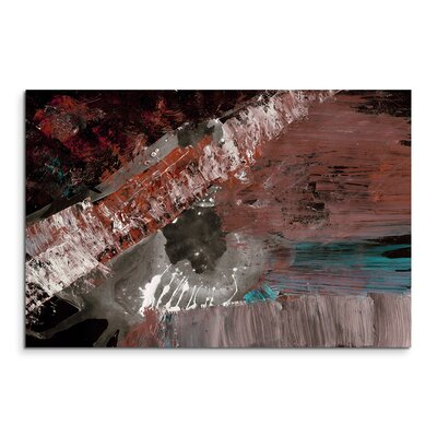 PaulSinusArt Enigma Abstrakt 647 Painting Print on Canvas