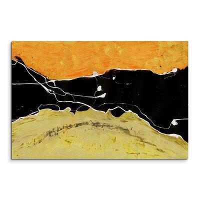 PaulSinusArt Enigma Abstrakt 655 Painting Print on Canvas