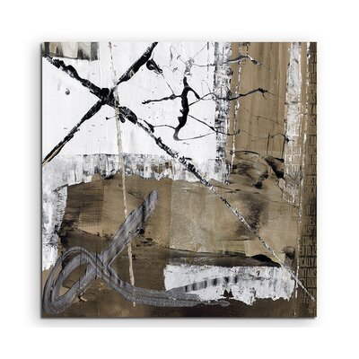 PaulSinusArt Enigma Abstrakt 535 Painting Print on Canvas