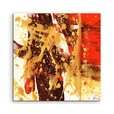 PaulSinusArt Enigma Abstrakt 538 Painting Print on Canvas