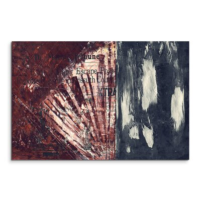PaulSinusArt Enigma Abstrakt 856 Painting Print on Canvas