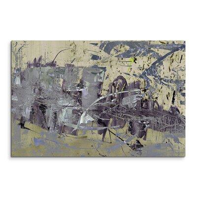 PaulSinusArt Enigma Abstrakt 869 Painting Print on Canvas