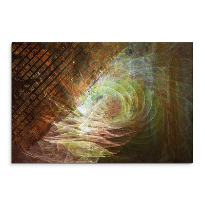 PaulSinusArt Enigma Abstrakt 1173 Painting Print on Canvas